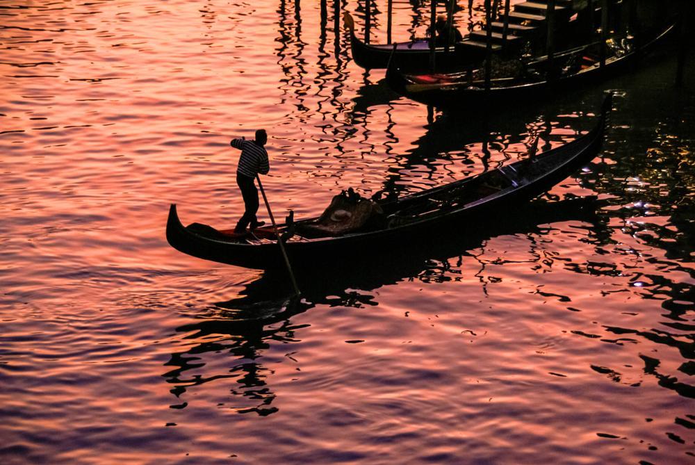 Photo in Travel #venezia #venecia #travel #italy #italie #italia #sunset