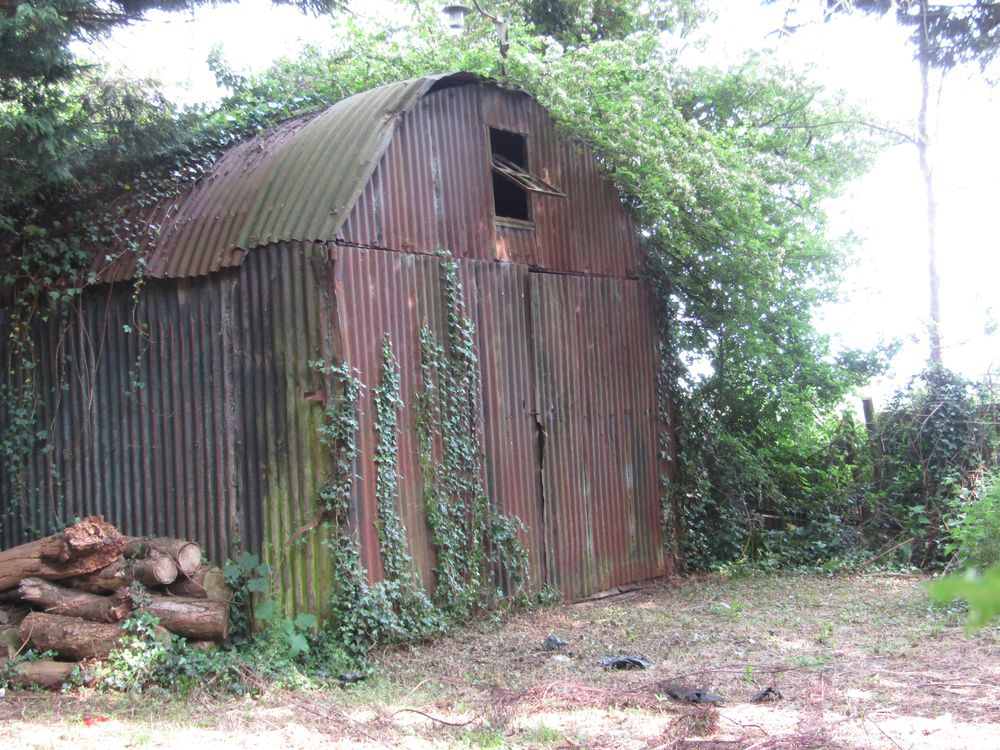 Photo in Random #nissan hut #war #old #tin #sheds #lost #history #jp