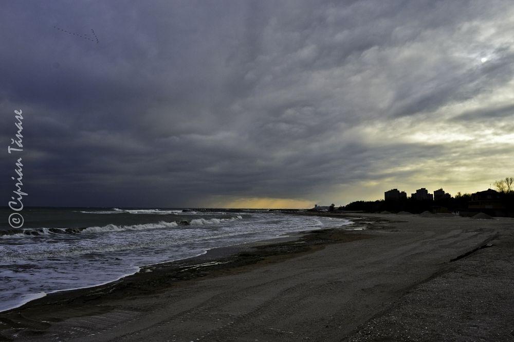 Photo in Landscape #ciprian #tanase #photography #ct #sea #black #winter