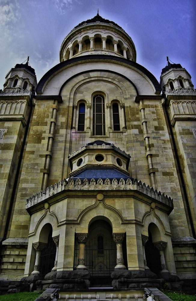 Photo in Architecture #ciprian #tanase #ctphotography #cathedral #orthodox #romania #cluj #church