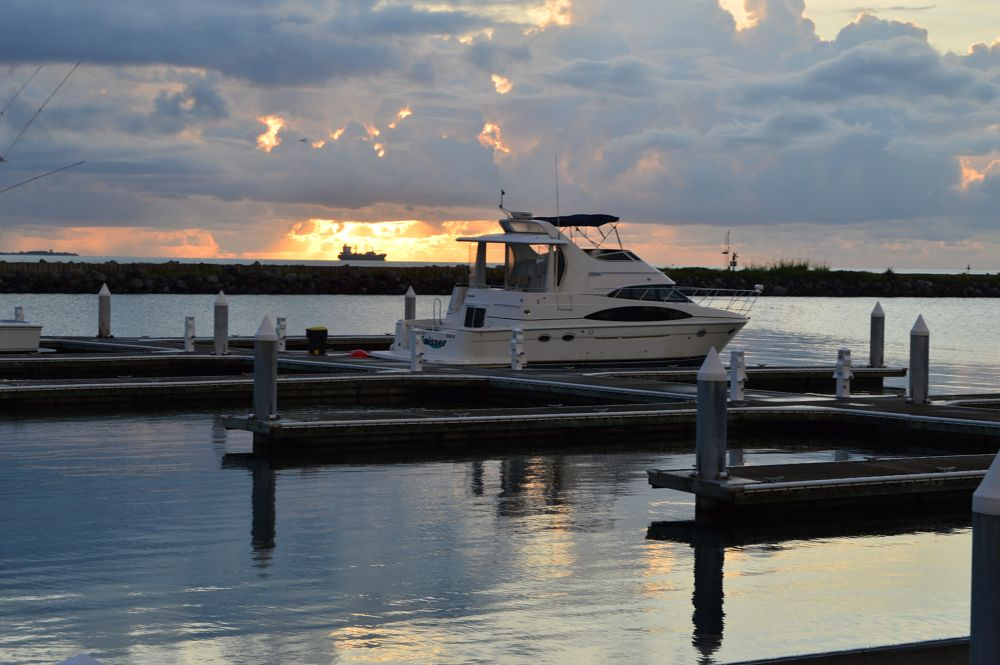 Photo in Landscape #sea #dock #clouds #veracruz