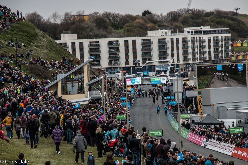 Photo in Sports #stage 3 #tour de yorkshire #cycling #races #scarborough