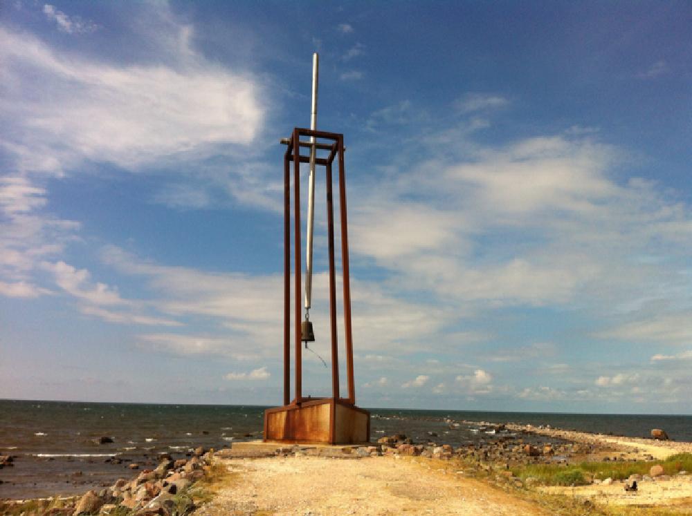 Photo in Landscape #sky #sea #bell #ship #estonia