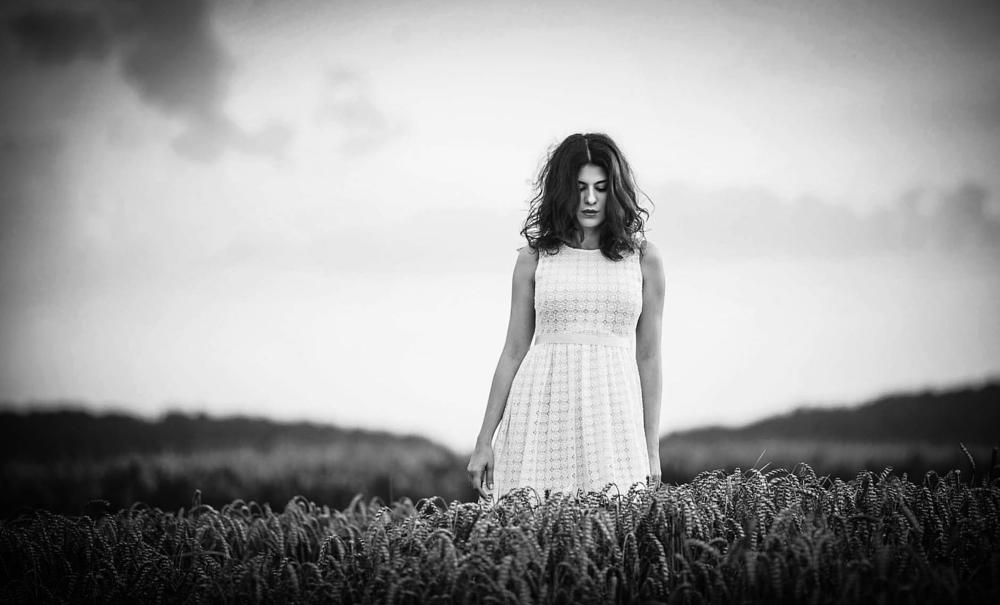 Photo in People #woman #nature #photography #outdoor #availablelight #moment #model #blackandwhite