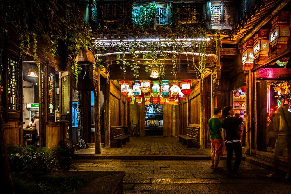 Photo in Travel #street #night #china