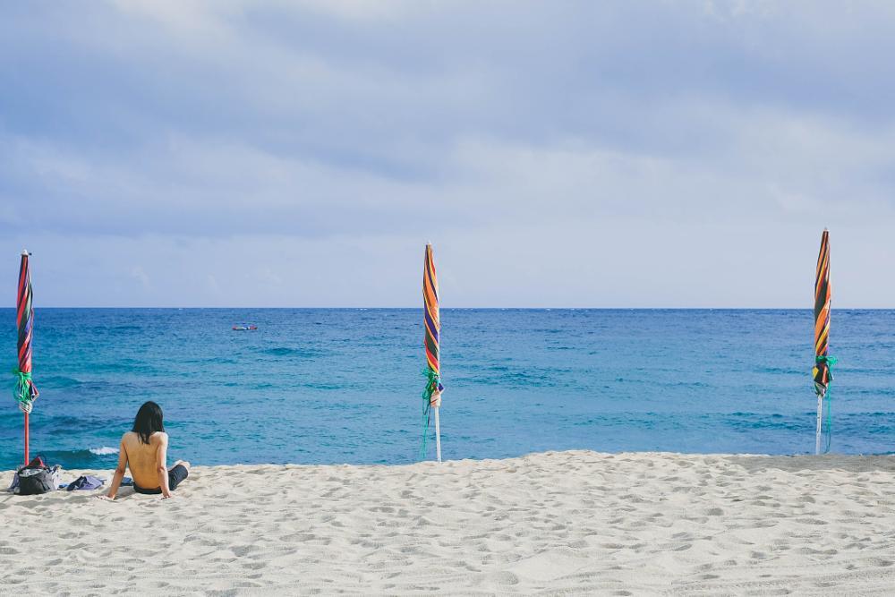 Photo in Travel #taiwan #kenting #beach #sea #blue #sand #summer