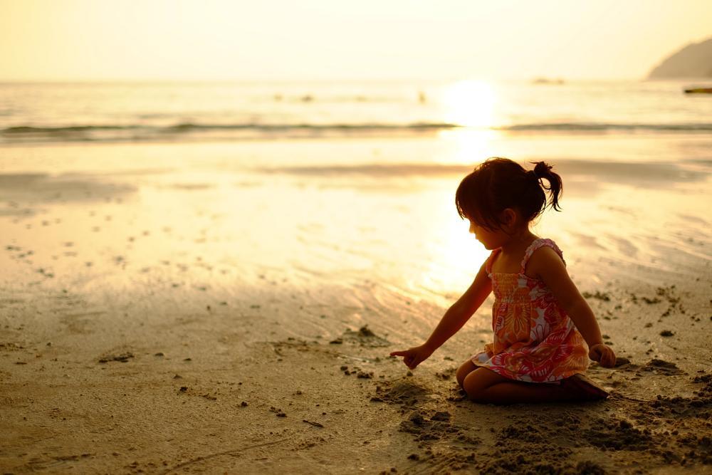 Photo in Travel #langkawi #malaysia #beach #girl #sunset