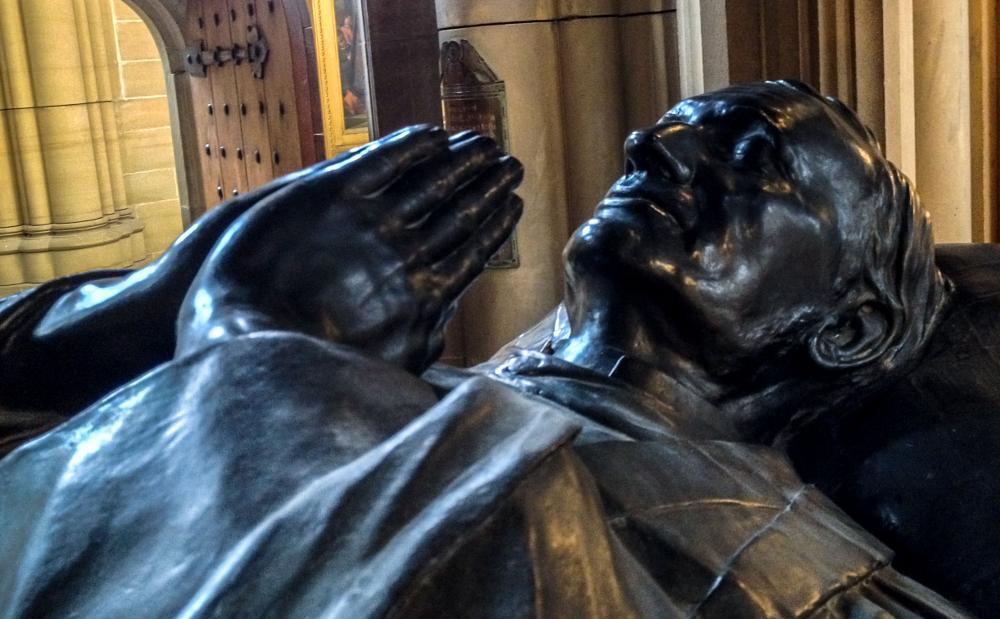 Photo in Random #tomb #lancing college #statuary