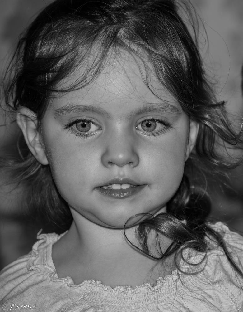 Photo in Portrait #eyes #candid #black and white #portrait #irish