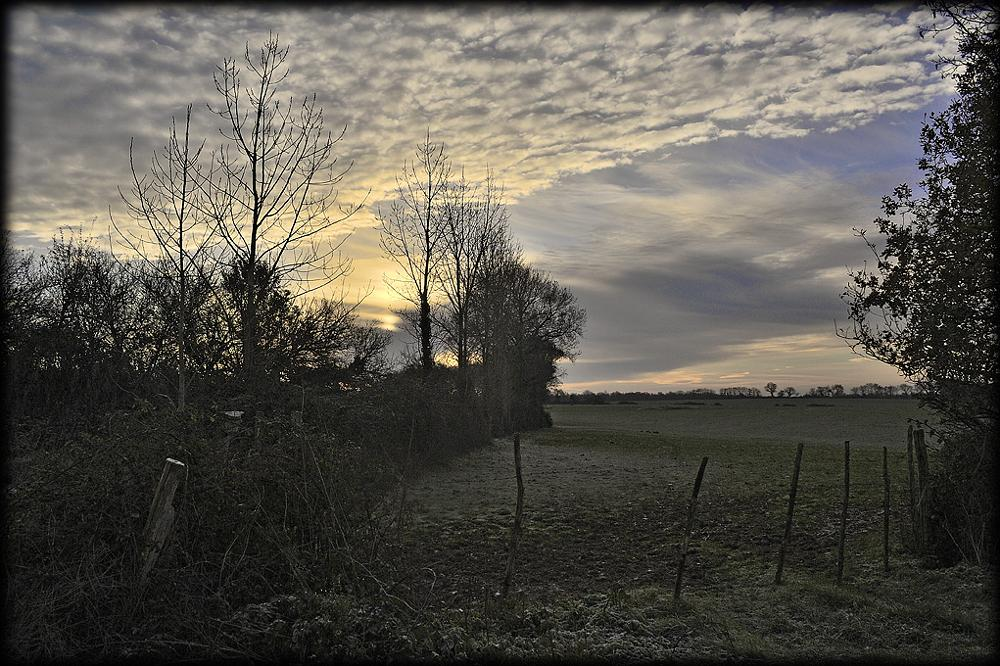 Photo in Landscape #sunrise #sky #countryside #rural