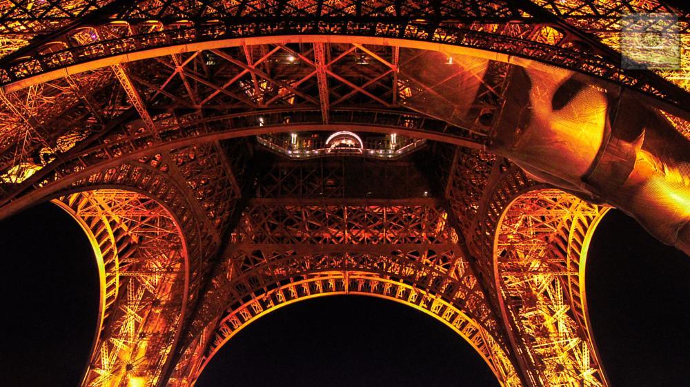 Photo in Architecture #eifelturm #paris #see #wather #metal #pixtheworld