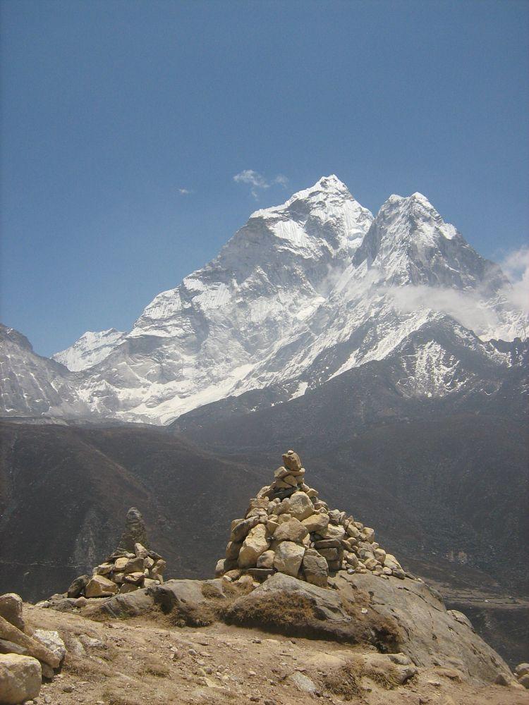 Photo in Random #nepal #himalaya #ama dablam #mountains #5079 m