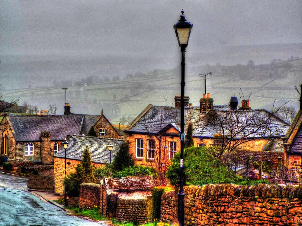 Photo in Landscape #peak district #village #sheffield #country #landscape #landscape view #yorkshire #scenery #countryside