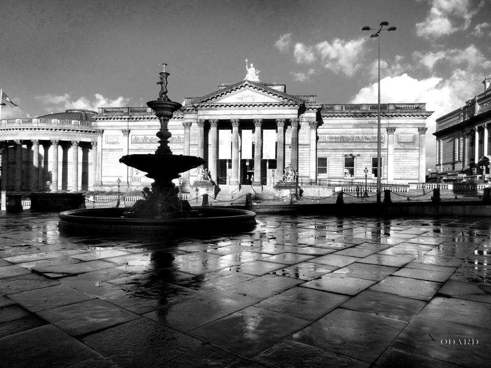 Photo in Black and White #liverpool #merseyside #buildings