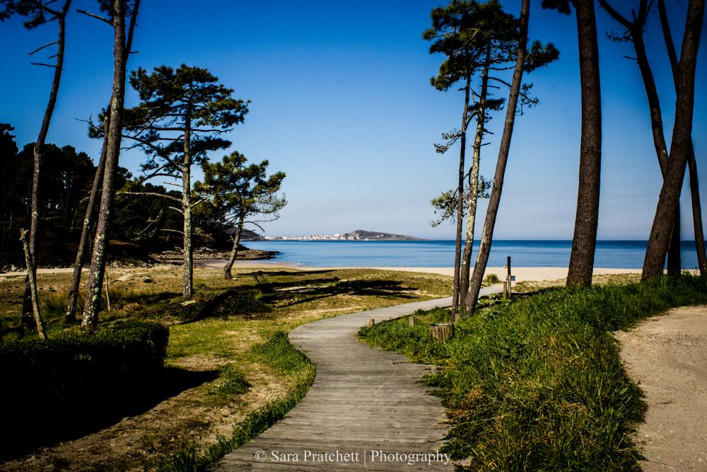 Photo in Sea and Sand #muxia #galicia #beach #spain #spring #2015 #blue