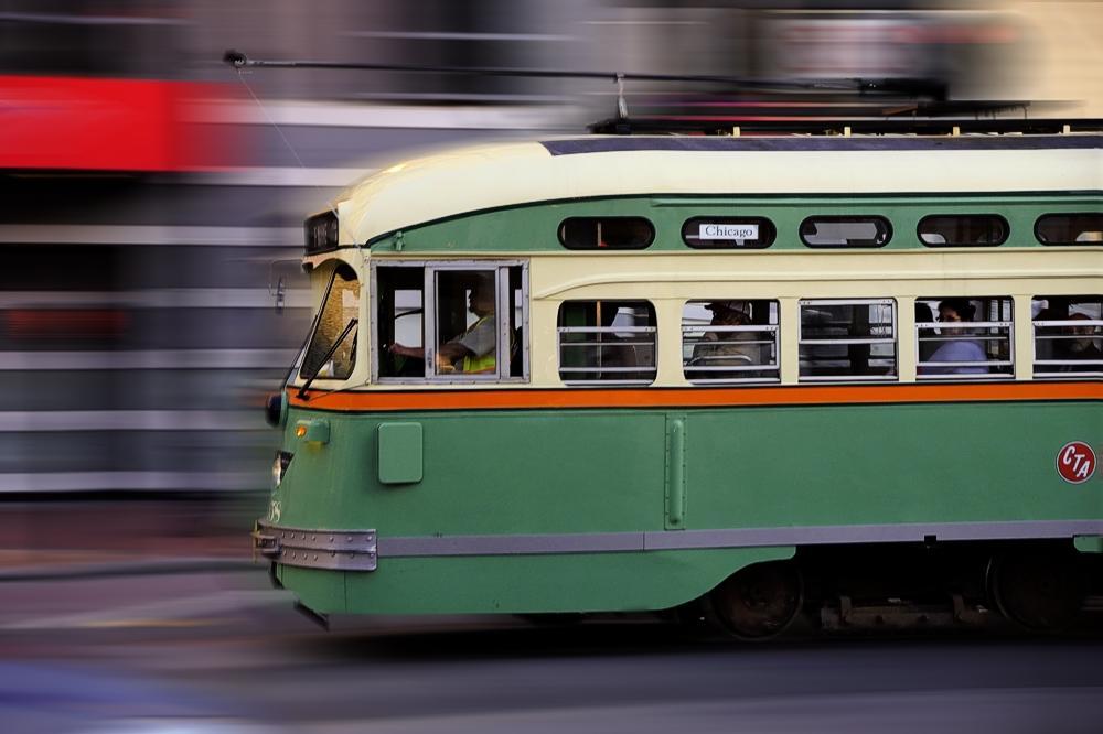 Photo in Street Photography #train #urbain train #san francisco #fast train