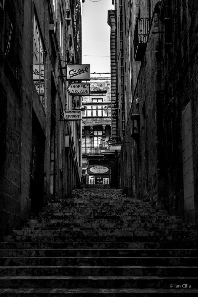 Photo in Street Photography #street #malta #b&w