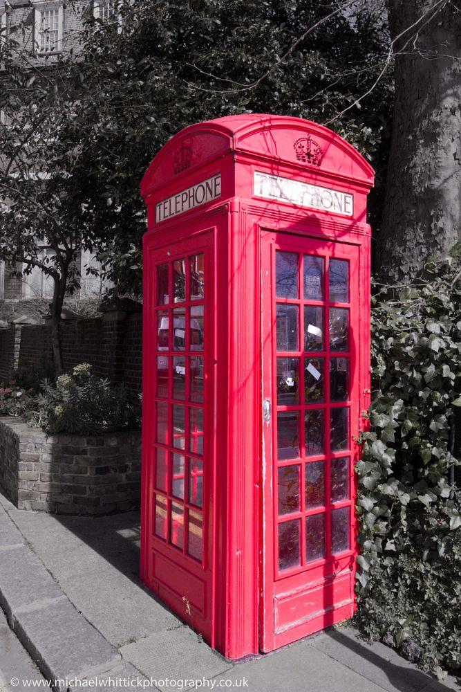 Photo in Random #lovelondon #redphonebox #michaelwhittickphotography