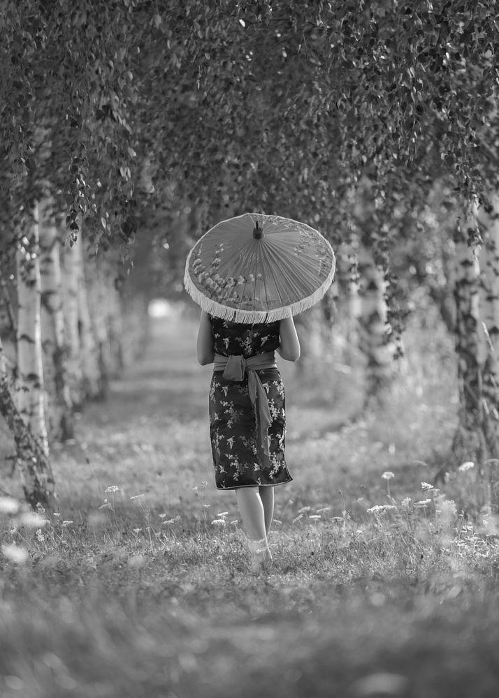 Photo in Black and White #samotność #odejście