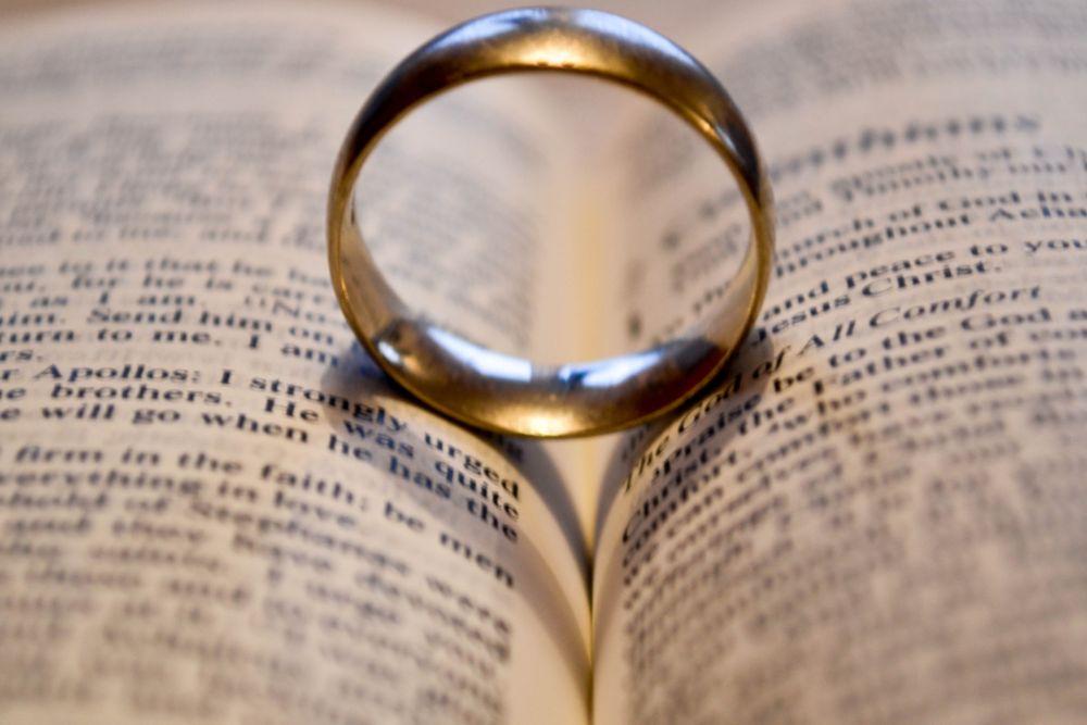 Photo in Random #wedding ring #bible #love #heart #nikon #366 day challenge 2016 #day 3 #indoors #crezzy1976 #d3100 #challenge