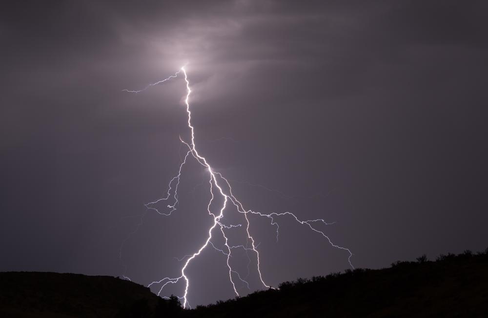 Photo in Nature #lightening #storm