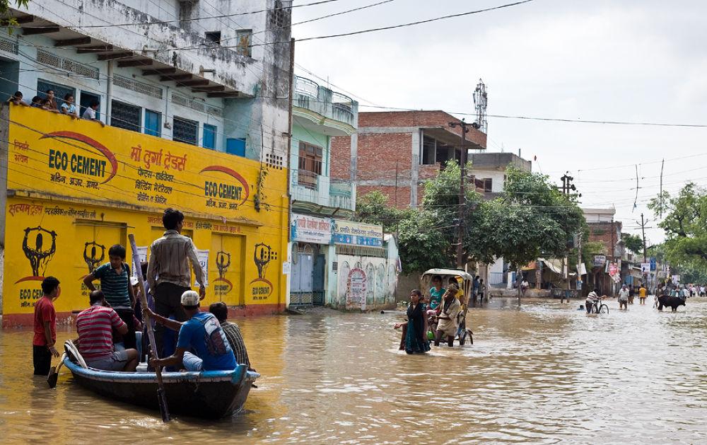 Photo in Random #ypa2013 #varanasi #flood