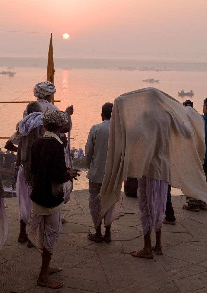 Photo in Random #ypa2013 #sunrise #varanasi #ganga