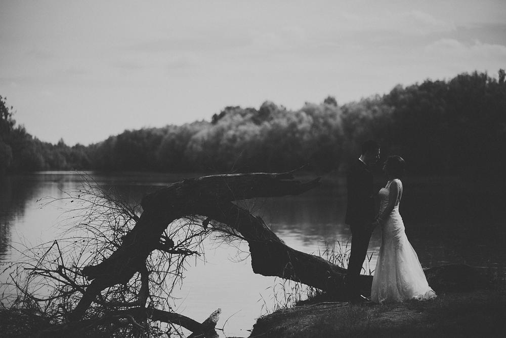 Photo in Wedding #b&w #wedding #portrait