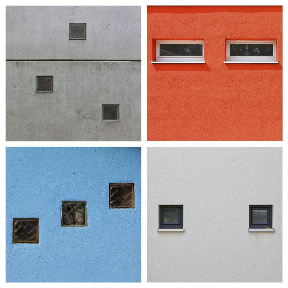 Photo in Architecture #urban #windows #color #colorful #wall #facade #front #minimalism #architecture #geometrive #lines #sqaure #kraftseins #bochum