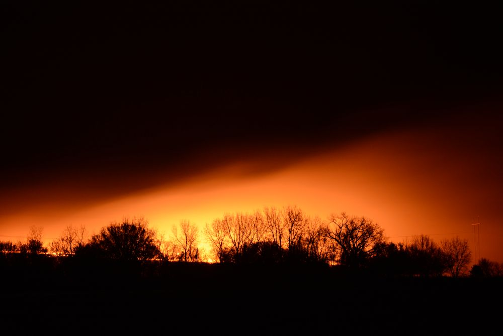 Photo in Nature #night #fires #oklahoma #wildfire #trees