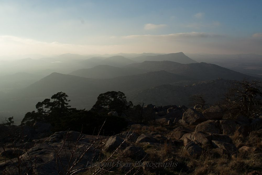 Photo in Landscape #hazy #skies #mt.scott