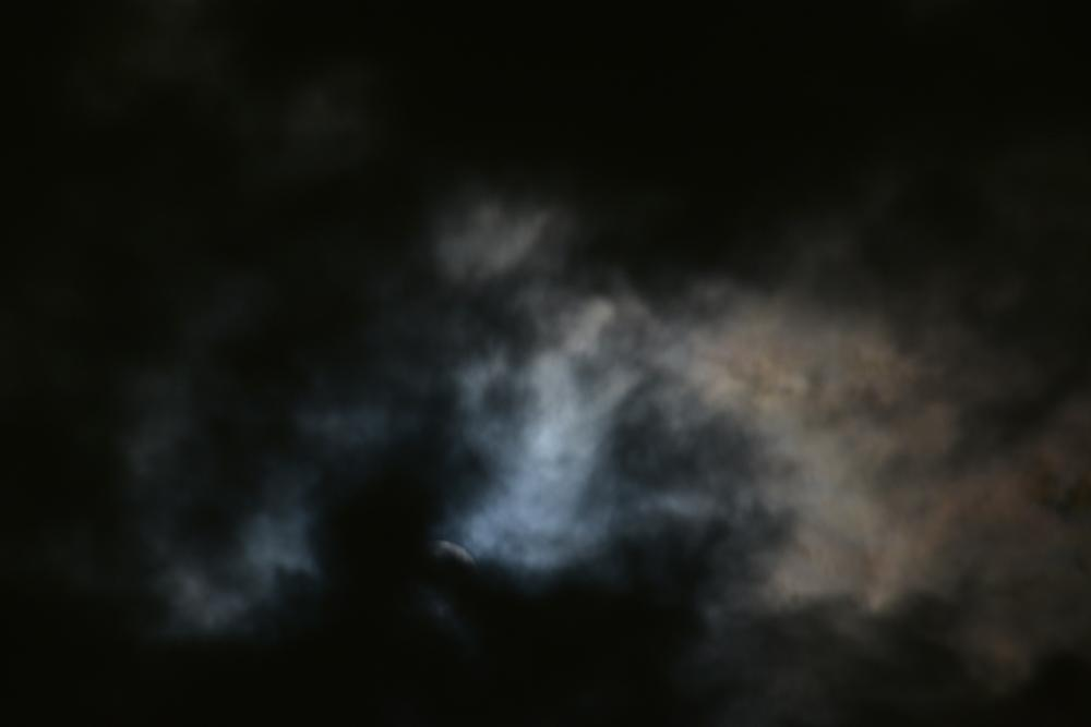 Photo in Astrophotography #blue moon #moon cloud #moon and shadow
