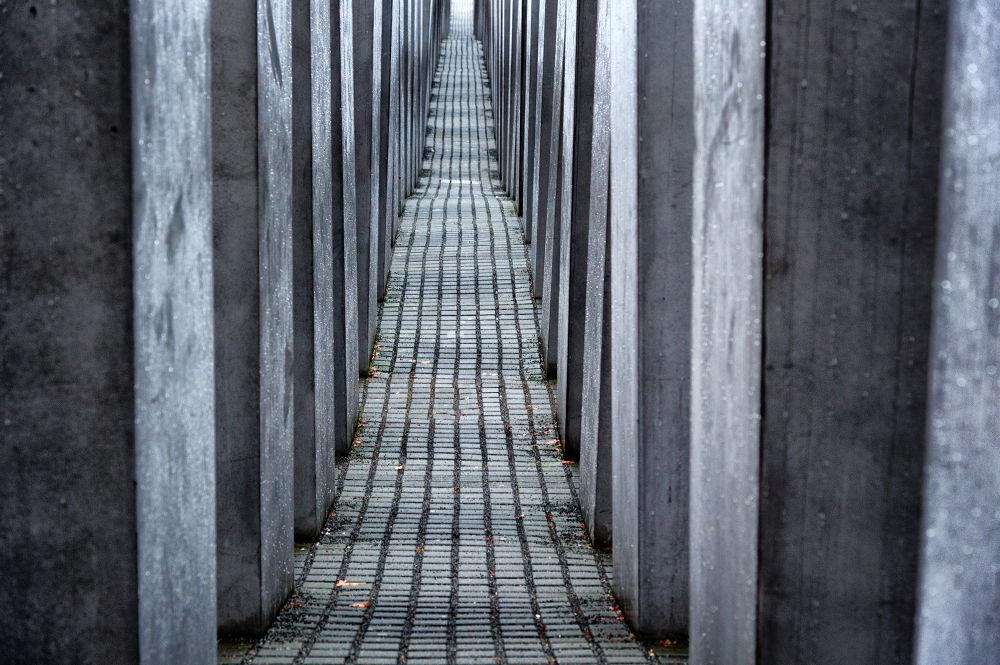 Photo in Architecture #berlin #holocaust museum