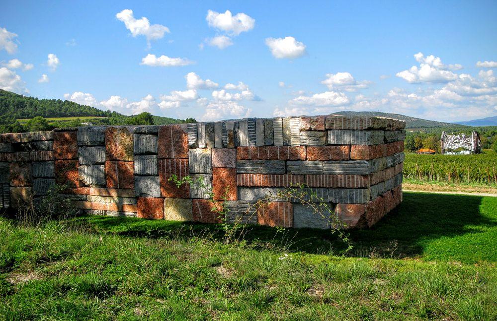 Photo in Fine Art #art #chateau la coste #sean sculy #wall of light cubed