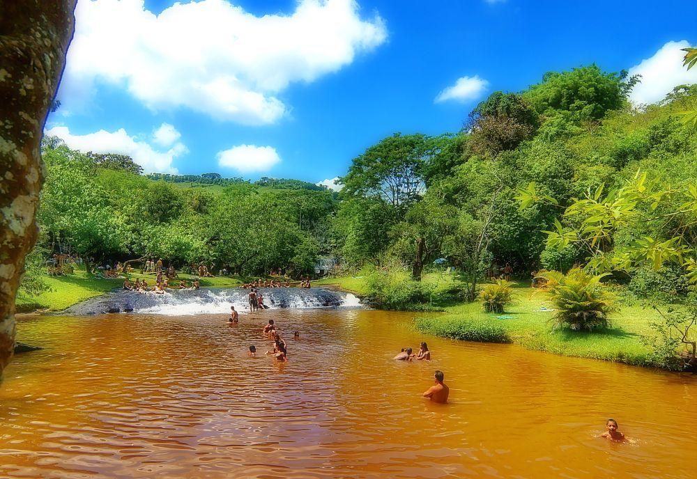 Photo in Cityscape #cachoeira #banho #waterfall