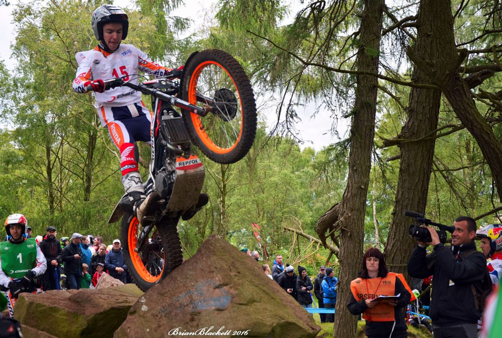 Photo in Sports #motorcycle trials #nikon d7100 #sports