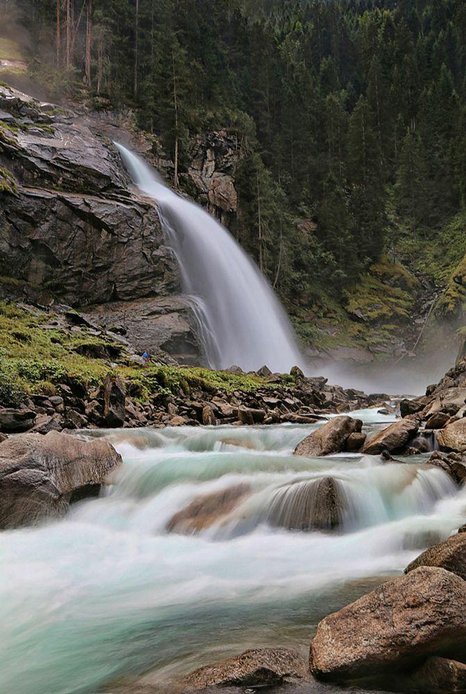 Photo in Nature #krimml waterfalls #falls #waterfall #krimml #austria #nature