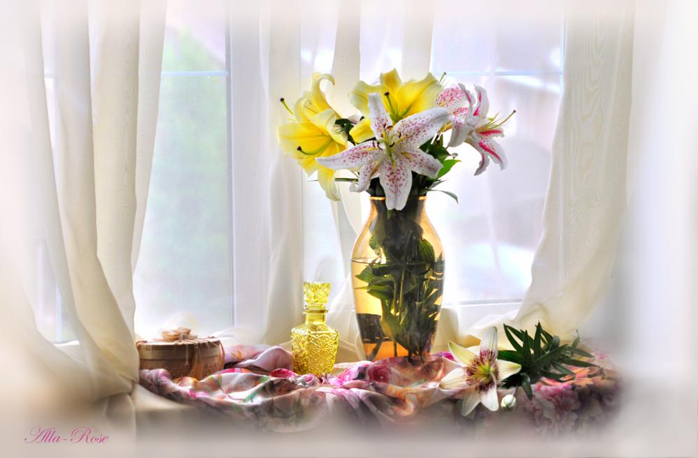 Photo in Nature #still life #lilies #flower
