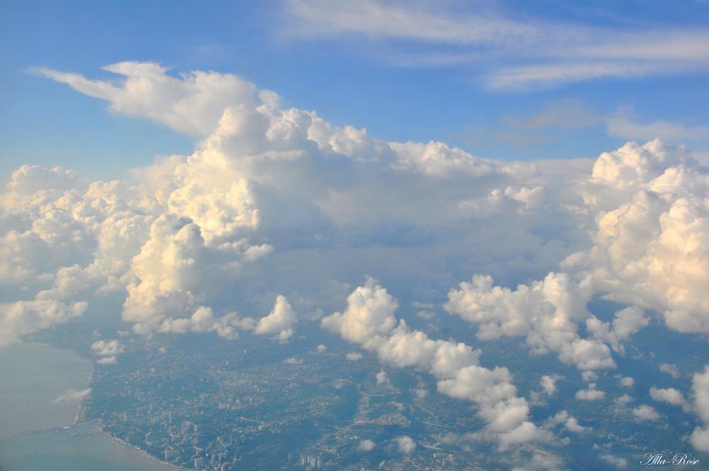 Photo in Landscape #clouds #sochi