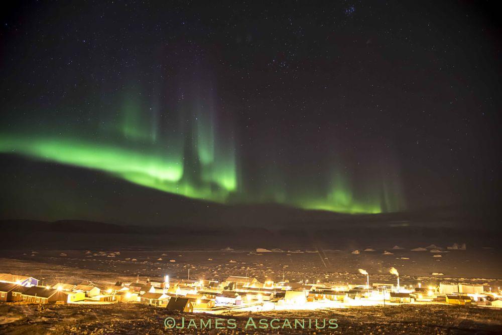 Photo in Random #aurora #qaanaaq