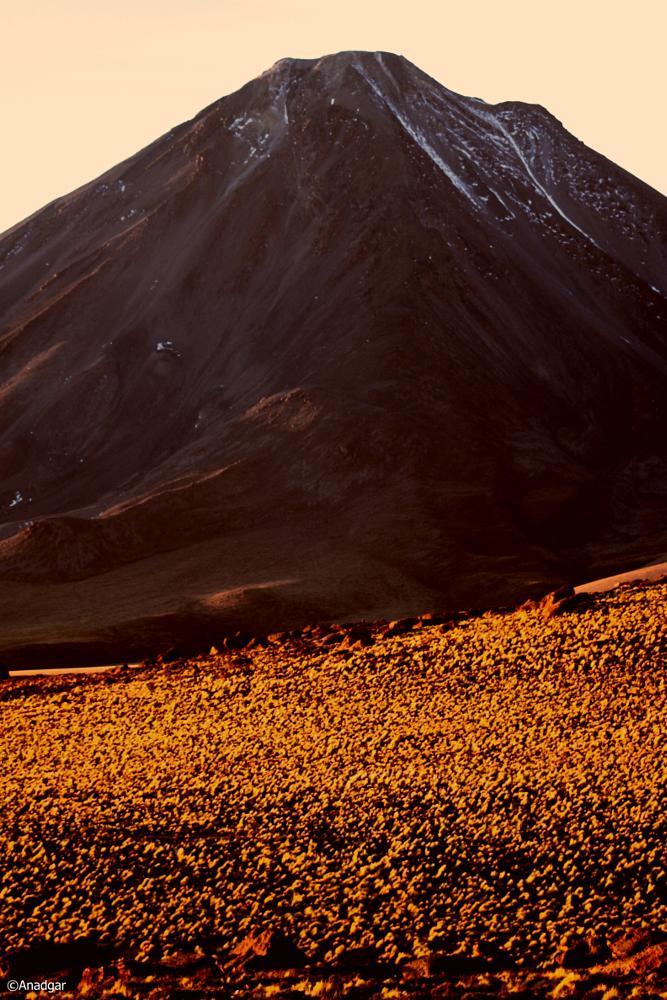 Photo in Landscape #anadgar #volcán #paja brva #desierto #cordillera