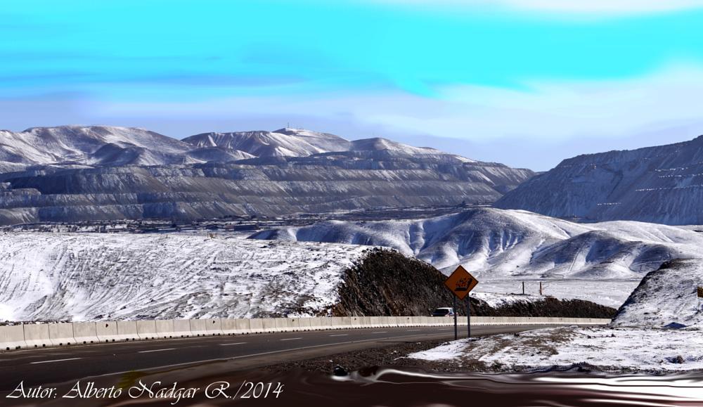 Photo in Landscape #anadgar #nieve #desierto