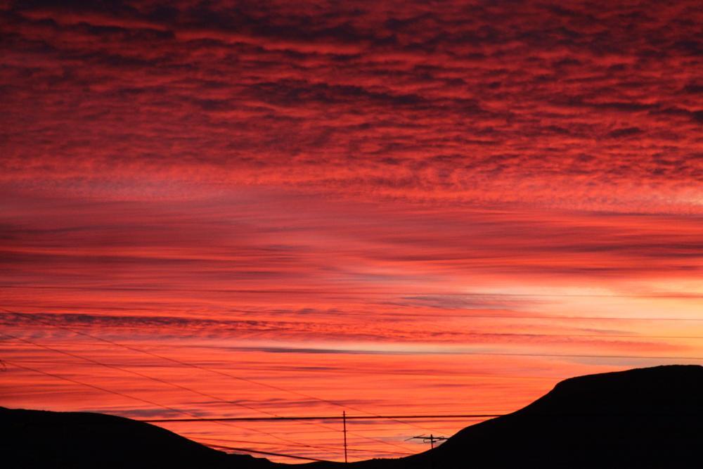 Photo in Landscape #anadgar #atardecer #nubes