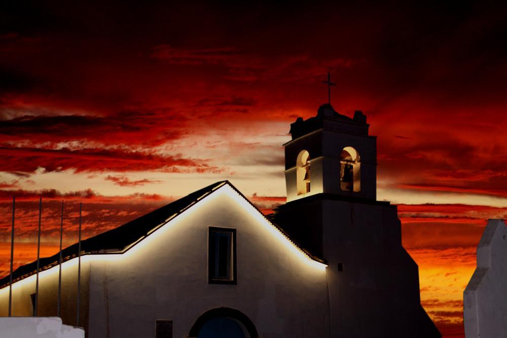 Photo in Landscape #anadgar #iglesia #atardecer #desierto