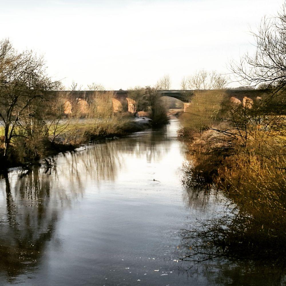 Photo in Landscape #bridge #river #riverside #landscape #water