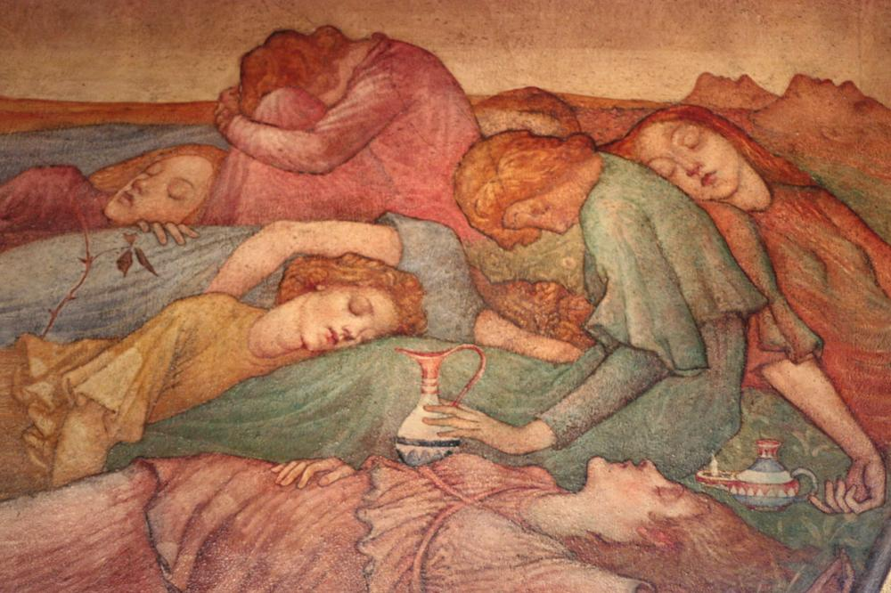 Photo in Fine Art #drinking #murals #virgins