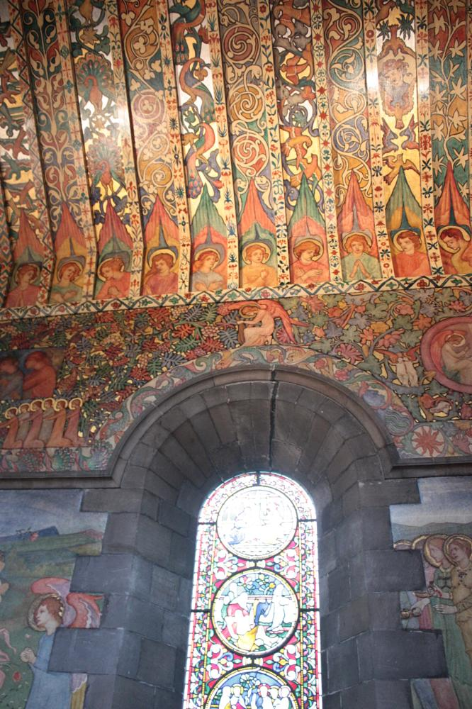 Photo in Fine Art #ceiling #church #stained glass #murals