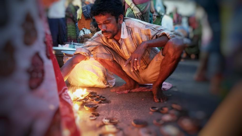 Photo in People #prayers #deepak #men #wishing