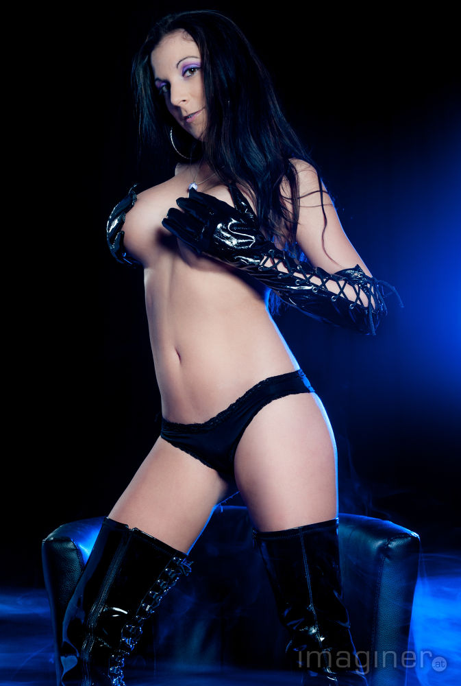 Photo in Random #gloves #black #leather #sexy #dust #blue