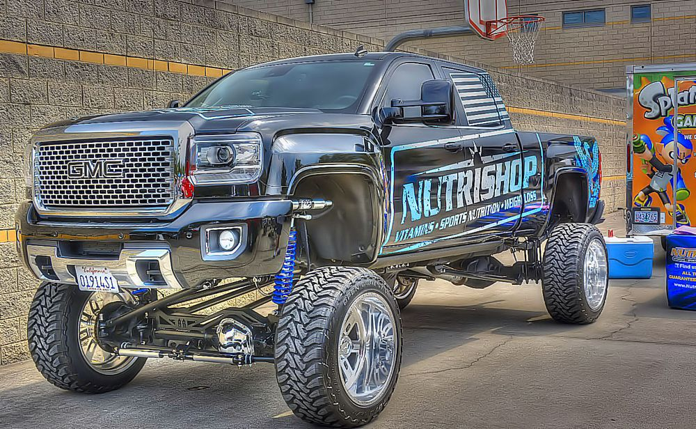 Photo in Vehicle #monster #truck #gmc #raised #huge #enormous #awesome #big